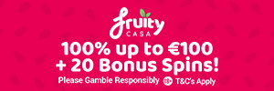 Fruity Casa casino – 10 Free Spins on Gonzo's Quest no deposit + 150% Welcome Bonus